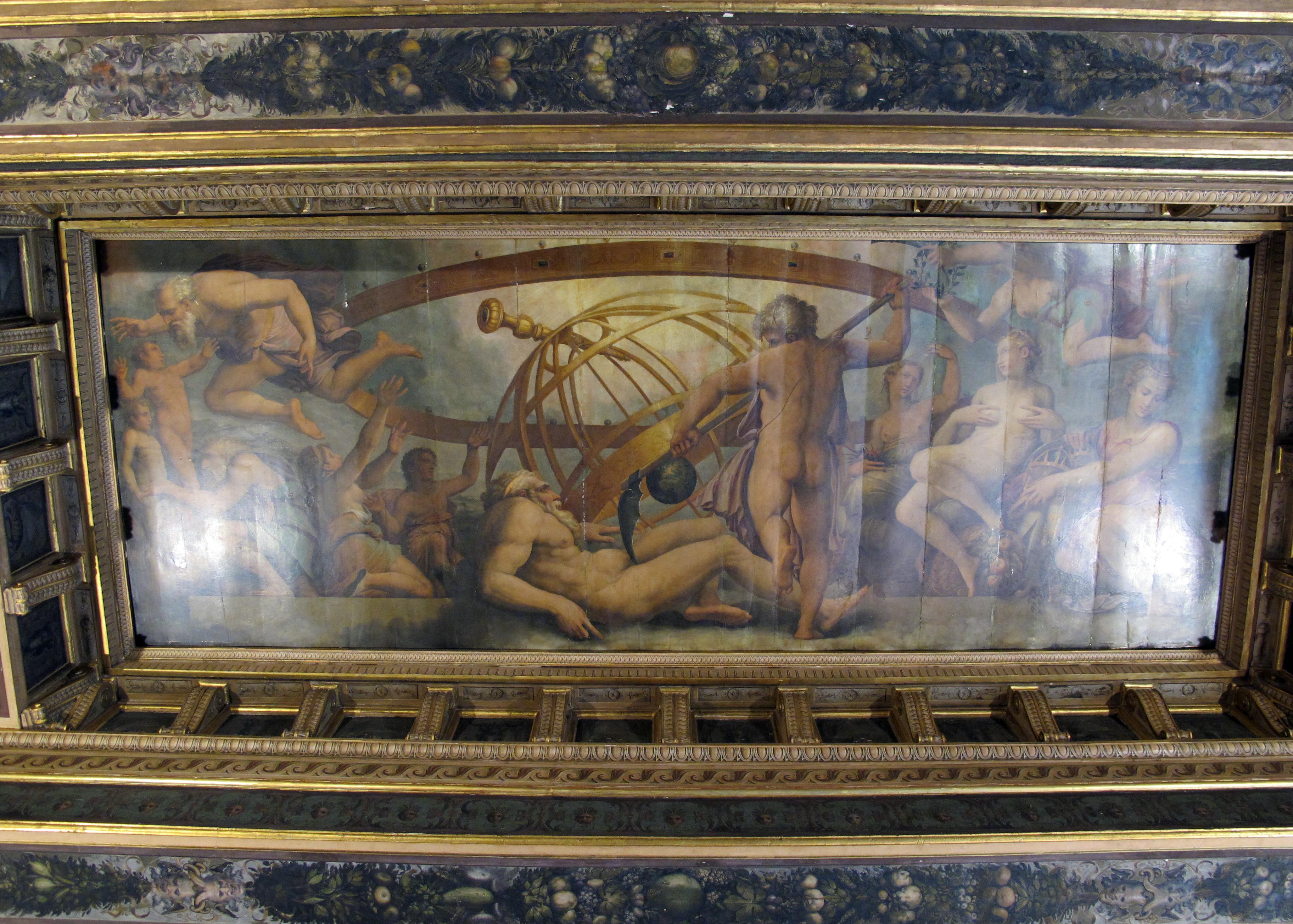Vasari - Palazzo Vecchio, sala degli elementi