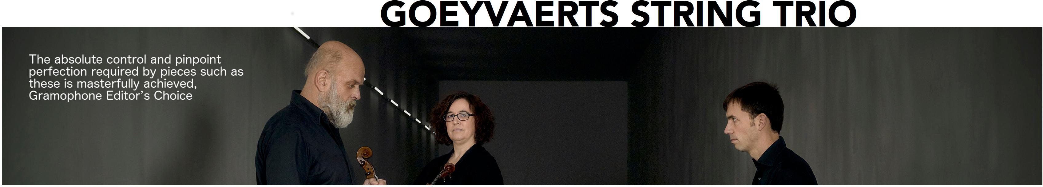 Goeyvaerts String Trio